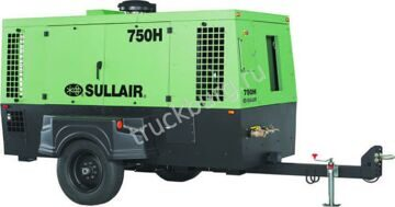 The Sullair 750H Portable Air Compressor